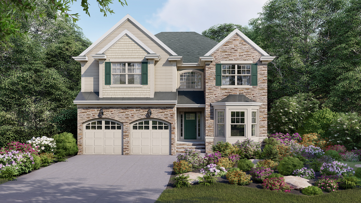 Exterior of home at Reserve at Woodhaven